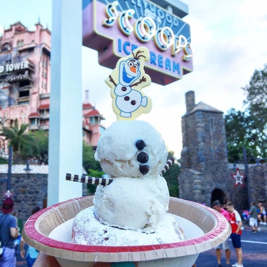 Olaf Sundae at Disney World 2017