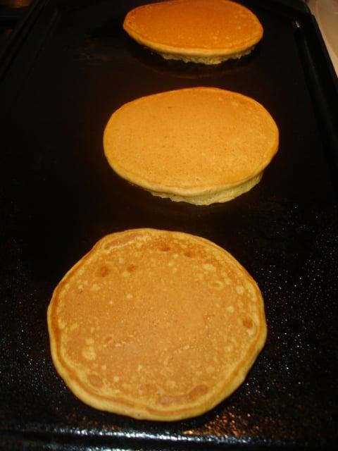Delicious: Pumpkin Pancakes