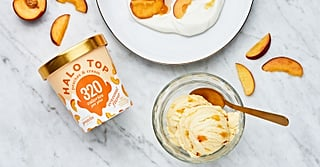 We Tried the New Halo Top Peaches and Cream, and OMG — It Tastes Just Like Summer