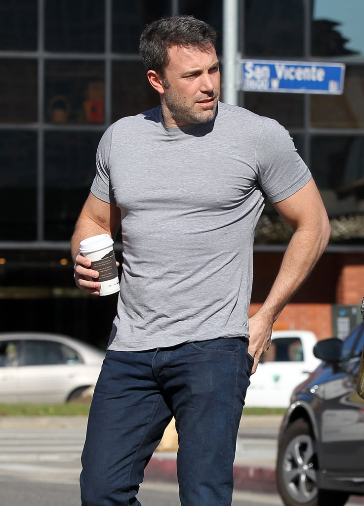 Ben Affleck's shirt seriously underestimated what it signed up for.