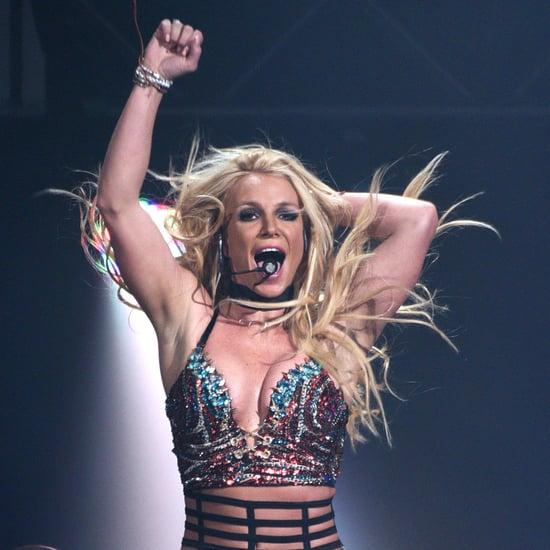Britney Spears Gym Workout Instagram