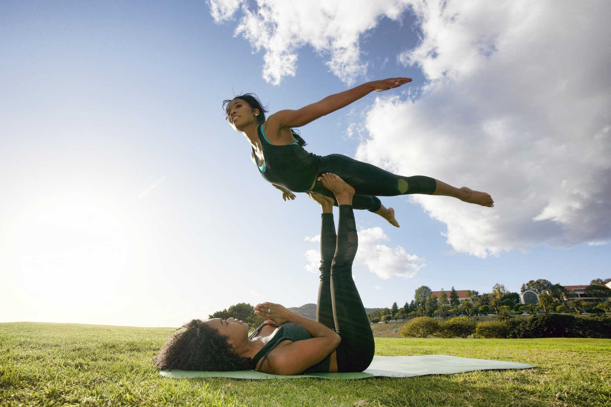 A Pro Explains Everything You Need To Know About Acroyoga Popsugar Fitness