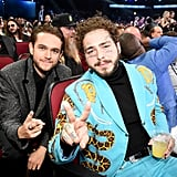 Pictured: Zedd and Post Malone