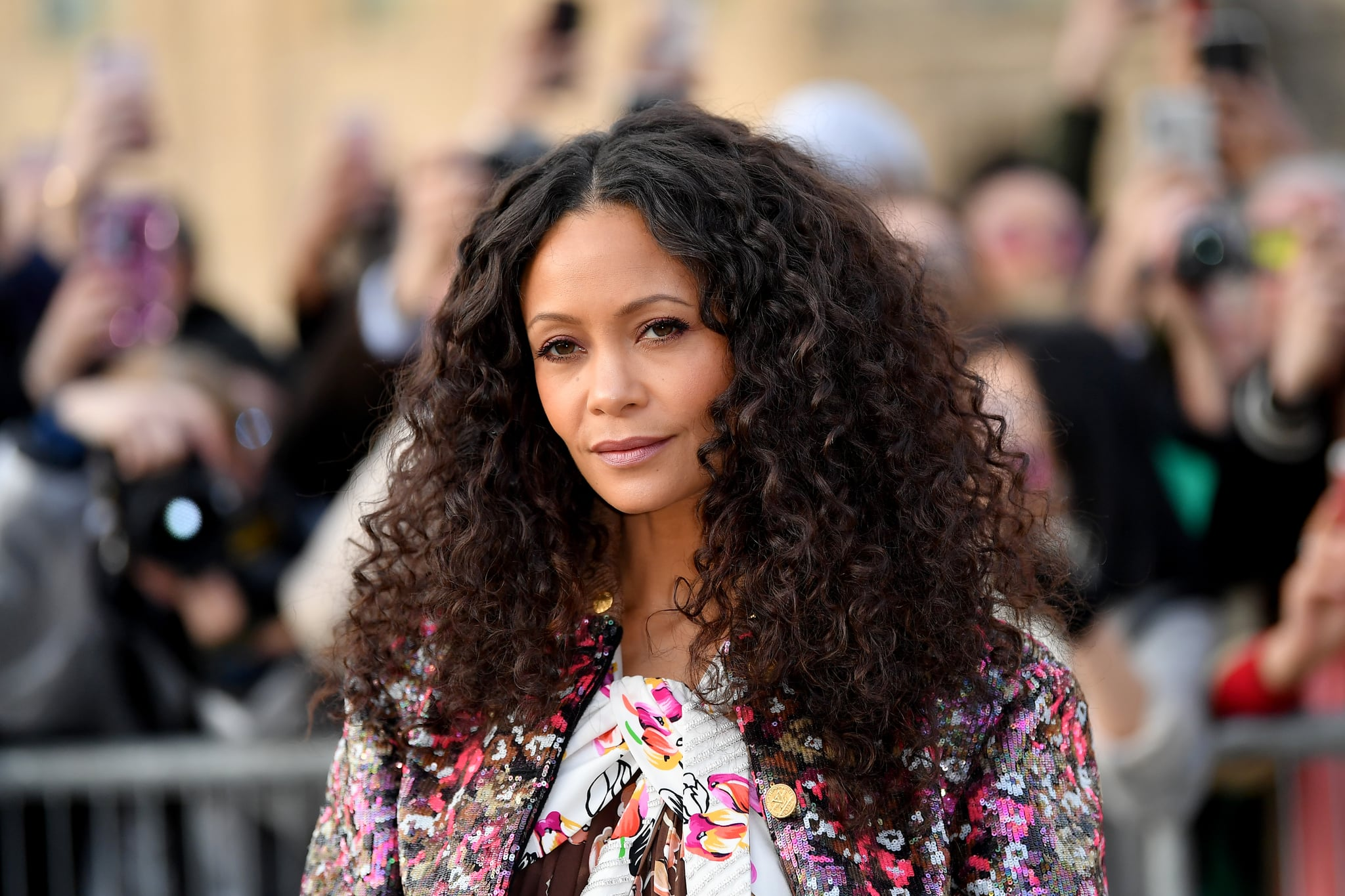 PARIS, FRANCE - MARCH 05: Thandie Newton attends the Louis Vuitton show as part of the Paris Fashion Week Womenswear Fall/Winter 2019/2020  on March 05, 2019 in Paris, France. (Photo by Jacopo Raule/Getty Images)