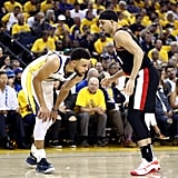 Steph and Seth Curry in Western Conference Finals 2019