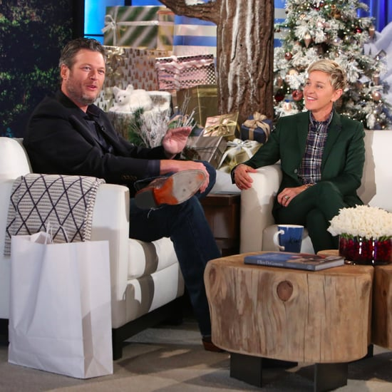Blake Shelton Talks Gwen Stefani on Ellen December 2016