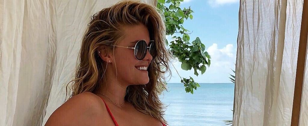 Nina Agdal Wearing a Swimsuit
