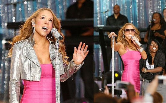 Mariah May Lip Sync, but She Can Still Improv a Smackdown