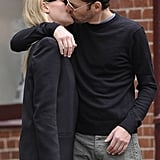 Kate Bosworth and Michael Polish shared an NYC kiss in June 2012.