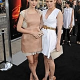 The two looked scary good for the LA premiere of A Nightmare on Elm Street.