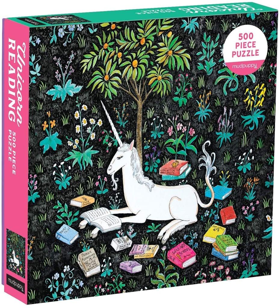 Mudpuppy 500-Piece Unicorn Jigsaw Puzzle