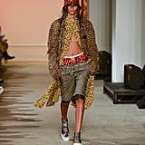 A Head-to-Toe Animal-Print Look From the R13 Runway at New York Fashion Week