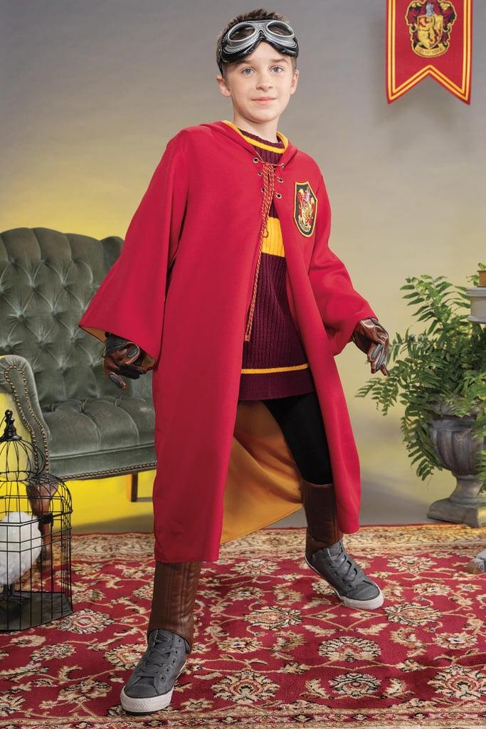 Gryffindor Quidditch Costume For Kids