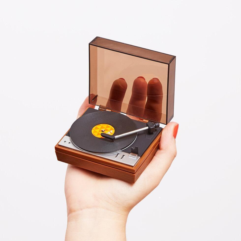 World's Smallest Turntable