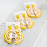 The Tiny Tassel Lemon Earrings