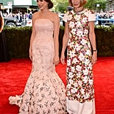 Anna Wintour and her daughter, Bee Shaffer, made a sleek, sophisticated team on the red carpet.