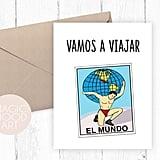 Vamos a Viajar El Mundo Card ($5)