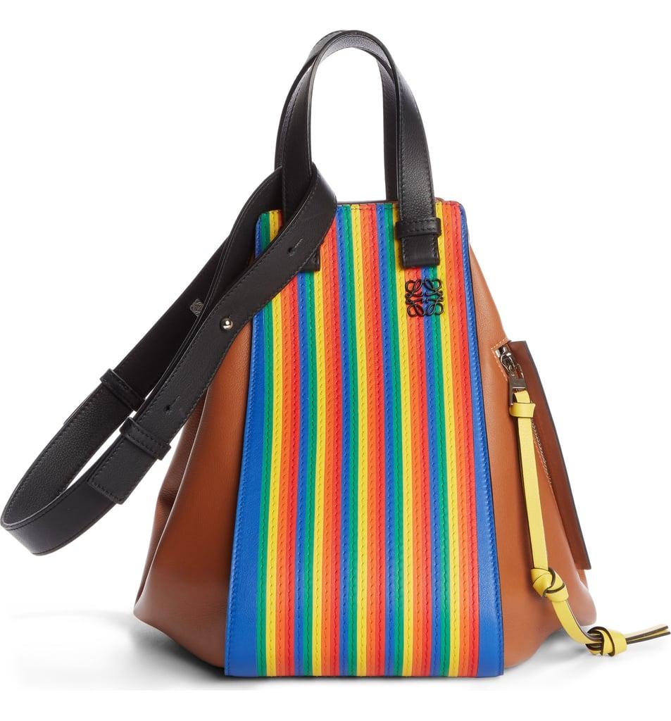 Loewe Medium Rainbow Hammock Calfskin Leather Shoulder Bag
