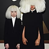 Sia and dancer Maddie Ziegler sported matching wigs in 2015.