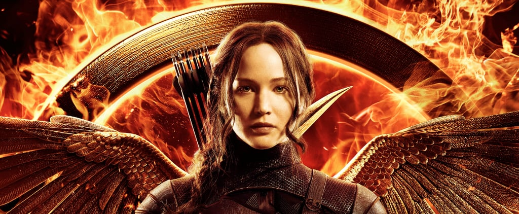 Jennifer Lawrence Katniss Everdeen Mockingjay Part 1 Poster