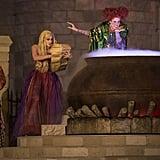 It's cauldron time for the Hocus Pocus sisters.