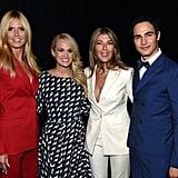Heidi Klum, Carrie Underwood, Nina Garcia, and Zac Posen