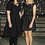 Sienna Miller held hands with Tom Sturridge's sister, Matilda Sturridge.