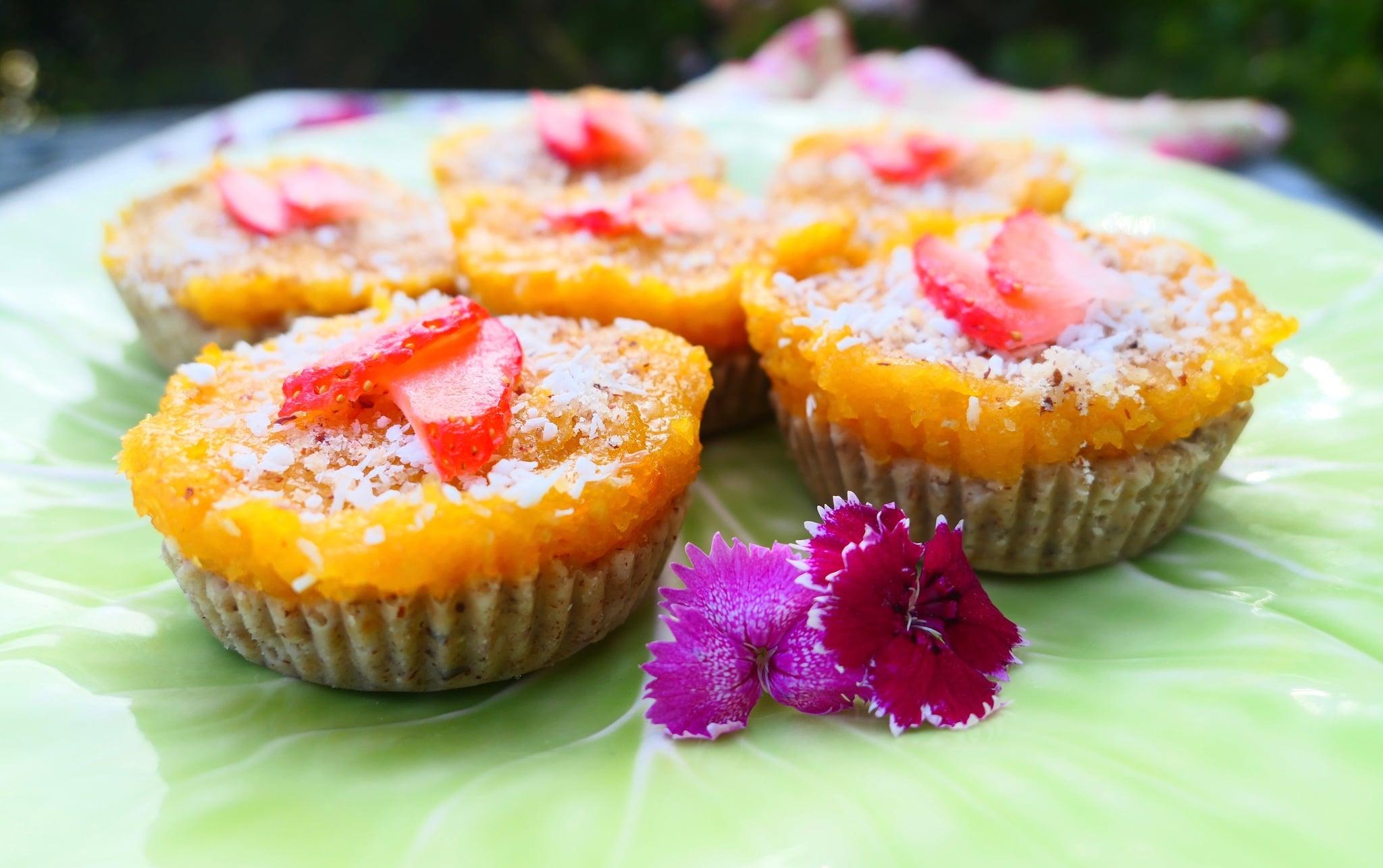 Strawberry Apricot CBD Tartlets