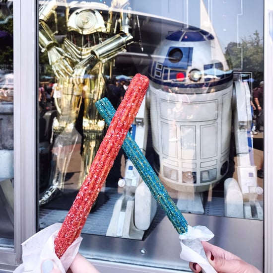 Lightsaber Churros at Disneyland