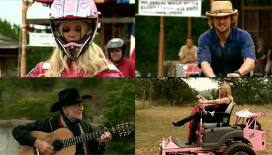 """Jessica Simpson, Owen Wilson, Luke Wilson, Woody Harrelson Star In Willie Nelson's """"You Don't Think I'm Funny Anymore"""" Video"""