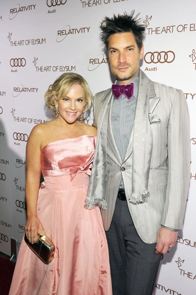 Rachel Harris and Cameron Silver
