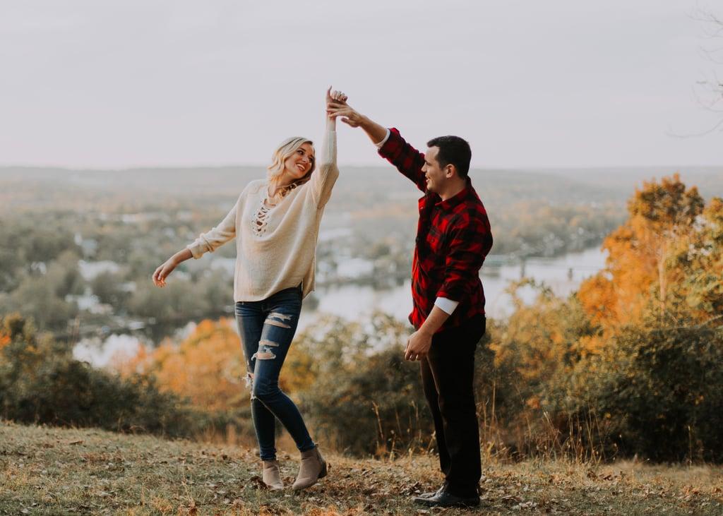 Golden Sunset Engagement Shoot