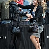 Chelsy Davy Has a Happy Homecoming as She Meets a Friend for Drinks