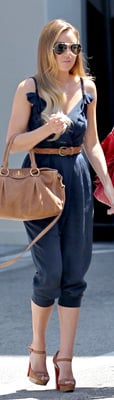 Lauren Conrad Wears Phillip Lim Jumpsuit