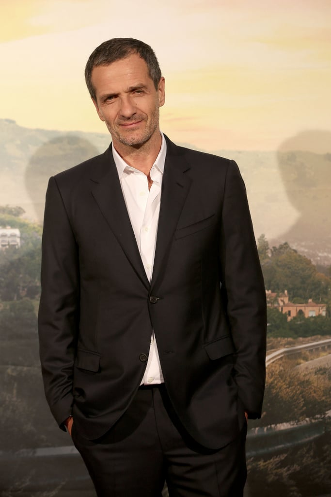 David Heyman at the Once Upon a Time in Hollywood premiere in Rome.