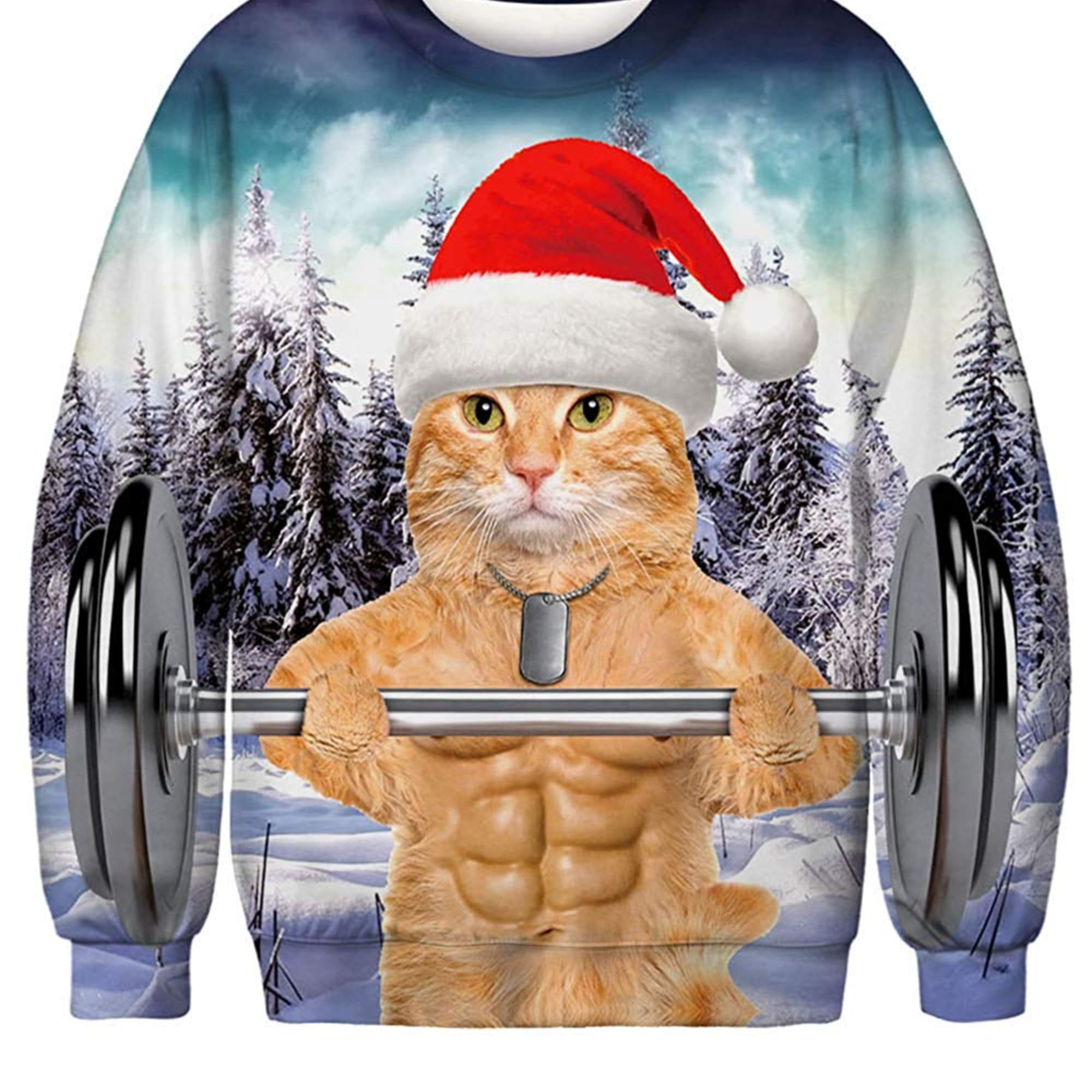 Cat Themed Ugly Christmas Sweaters On Amazon Popsugar Pets