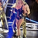 Britney Spears Rocks the Vegas Stage in a Variety of Skimpy Costumes!