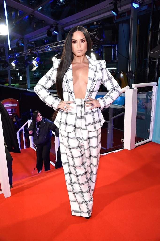Demi Lovato's Styland Suit at MTV EMAs