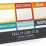 Knock Knock Tell It Like It is Sticky Note Packet