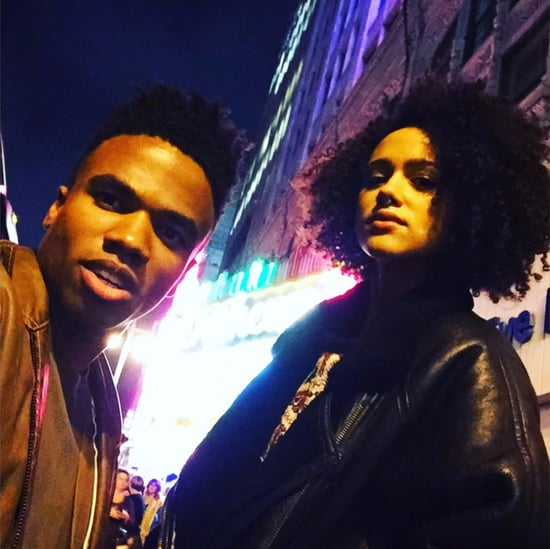 Nathalie Emmanuel and Luke Youngblood Friendship