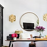 """The multifunctional makeover was a welcome challenge for Mat. """"With so many needs for the space, we wanted to create a sophisticated blend of form and function, while being as playful and chic as Shay is,"""" he says."""