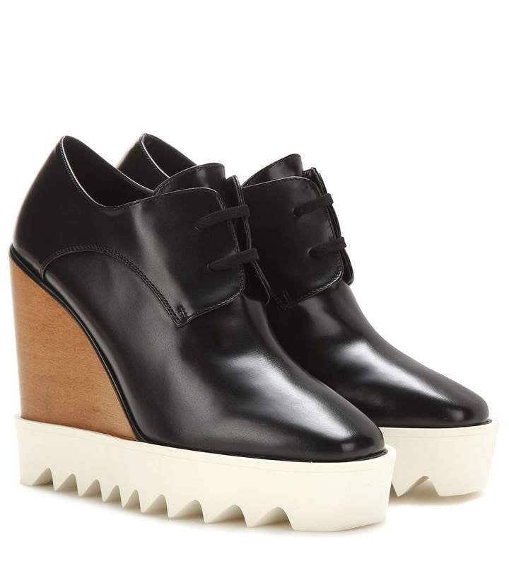 Stella McCartney Platform derby shoes ($995)