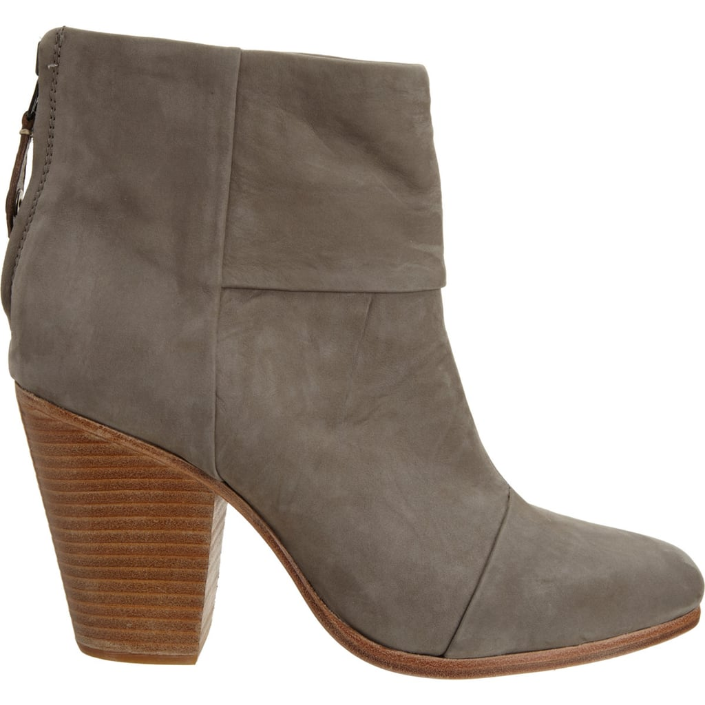 Done in goes-with-everything taupe, we guarantee you'll wear Rag & Bone's classic Newbury boots ($299, originally $495) at least once a week (daily, if you want!).