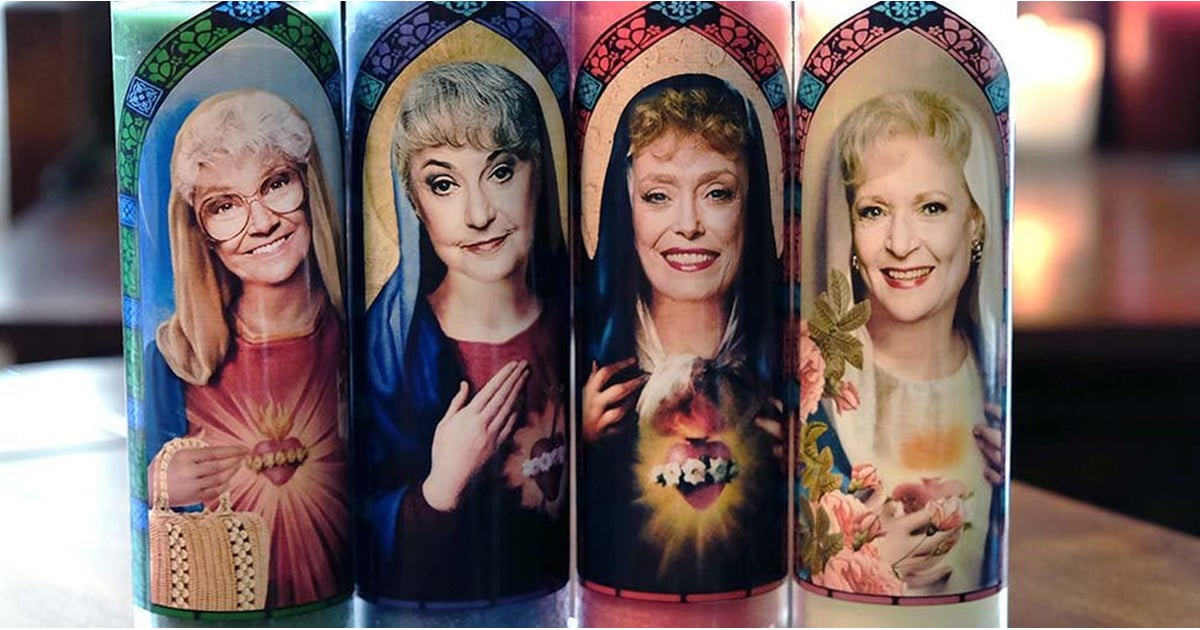 """These Golden Girls Prayer Candles Honor the """"Patron Saints of Miami,"""" and I'm Cackling"""