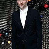 Robert Pattinson at Dior Homme Runway Show Paris June 2016