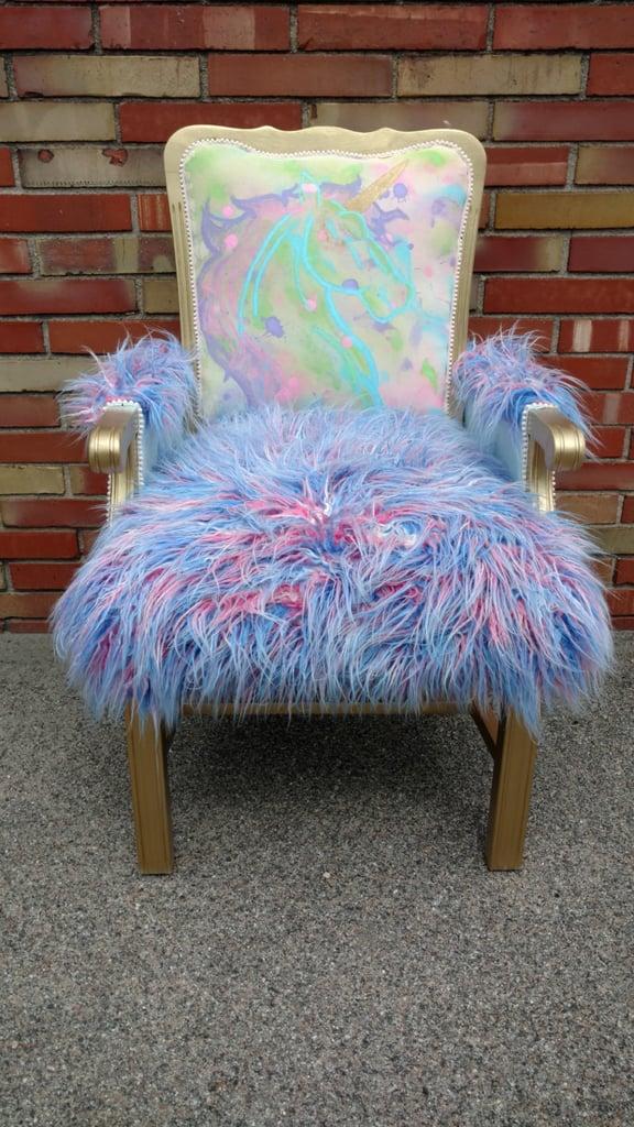 Unicorn Accent Chair ($595)