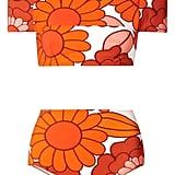 Dodo Bar Or Off-the-Shoulder Floral-Print Bikini ($277)