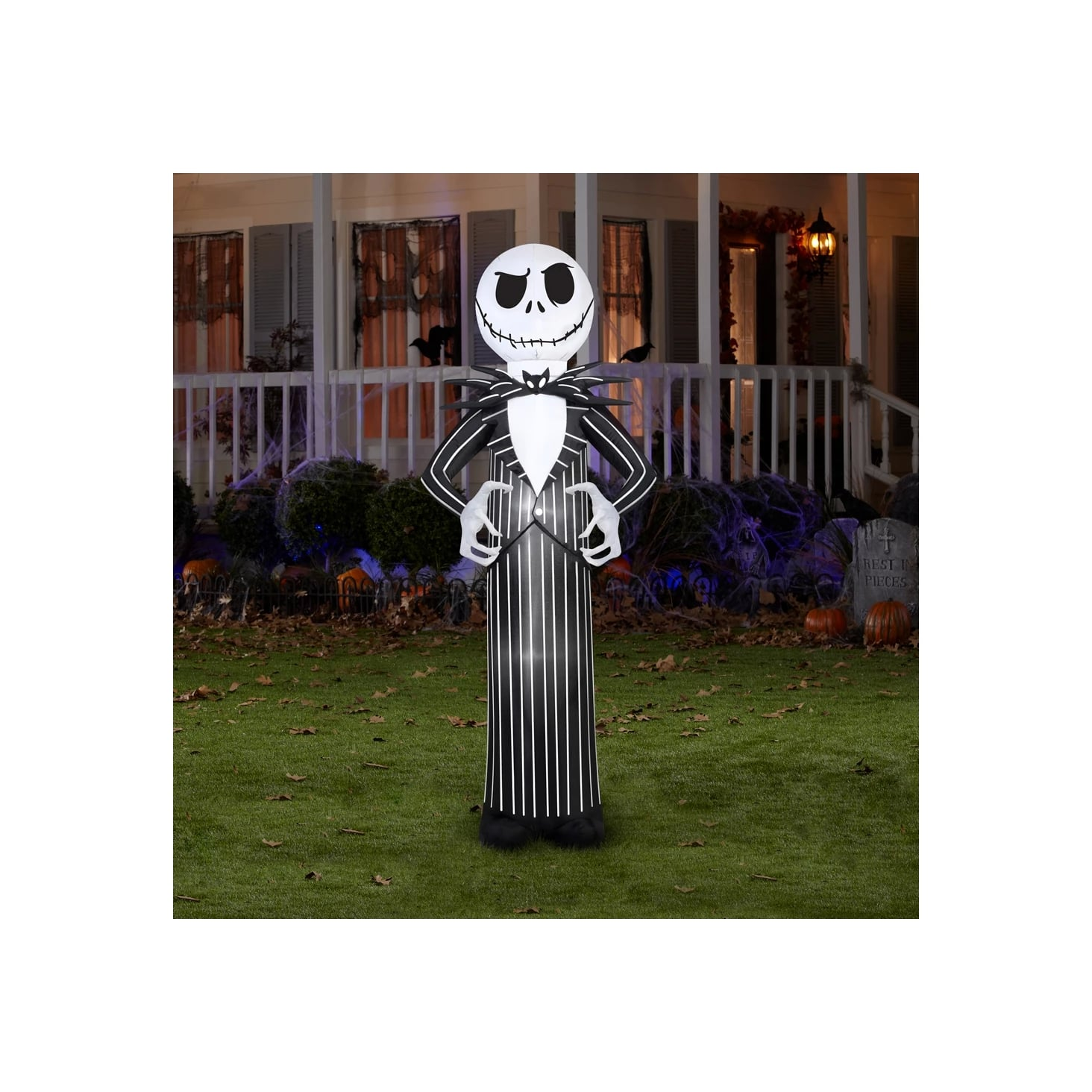 Disney Nightmare Before Christmas Jack Skellington Inflatable Halloween Decoration Deck The Halls With Horror Target S Outdoor Halloween Decor Is Frightfully Delightful Popsugar Home Photo 79