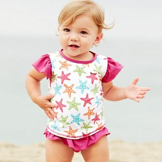 UPF Protective Swimwear For Kids
