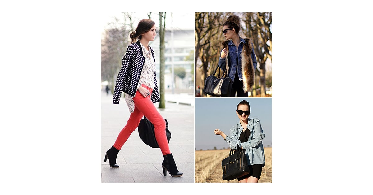 Learn How To Update Your Denim Routine With 10 Street Style Inspiration Pics Popsugar Fashion